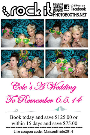 "Cole's ""A Wedding To Remember"" Bridal Show 6.5.14"