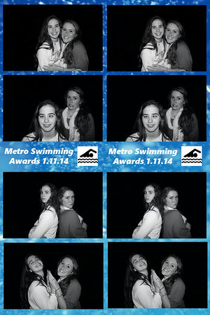 Metro Swim Team Award Party 2014