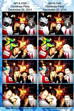API & CNS Ugly Sweater Christmas Party 12.20.14