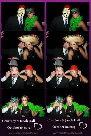 Courtney & Jacob Hall 10.3.15