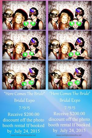 """Here Comes the Bride"" Bridal Expo 7.19.15"