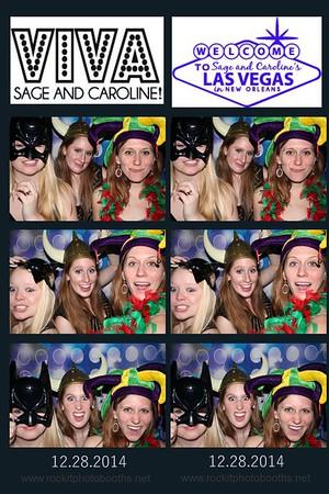 Sage and Caroline's debutante party 12.28.2014